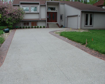 Wonderful Stamped Concrete Driveways MI | Stamped Concrete Driveways Michigan | Decorative  Concrete Driveways MI